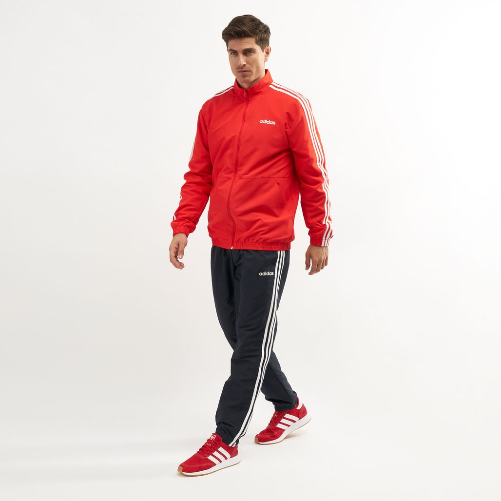 adidas Men's 3-Stripes Woven Cuffed Tracksuit