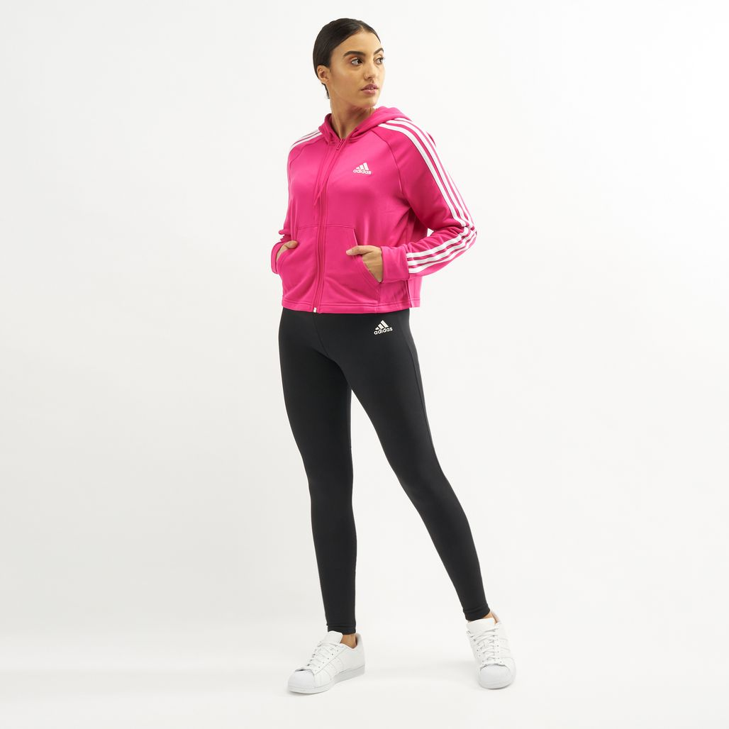 adidas Women's Hoodie and Tights Track Suit