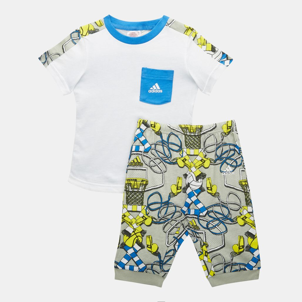 adidas Kids' Summer Set (Baby and Toddler)