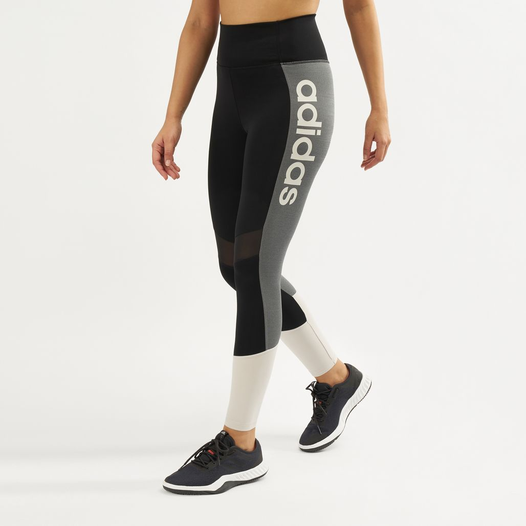 adidas Women's Design 2 Move Colorblock High-Rise 7/8 Leggings
