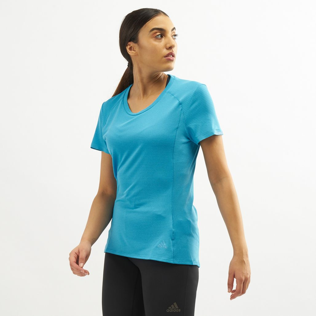 adidas Women's Supernova T-Shirt - Blue