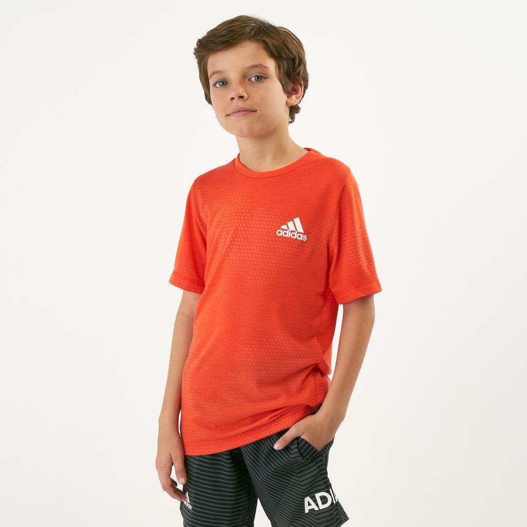adidas Kids' Training Aeroknit T-Shirt (Older Kids)