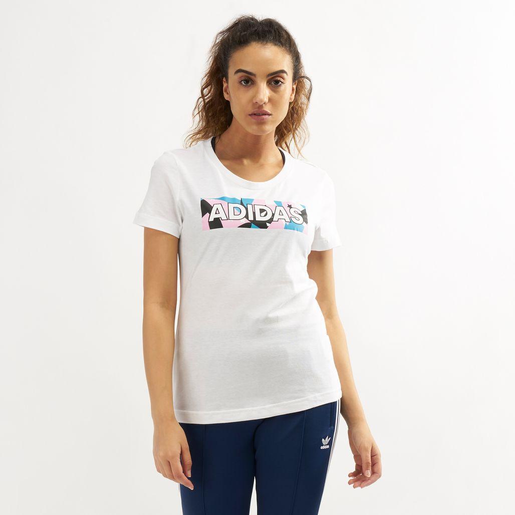 adidas Women's AOP Pack 2 T-Shirt