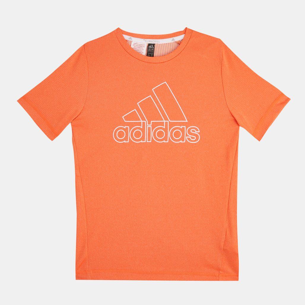 adidas Kids' Climachill T-Shirt (Older Kids)