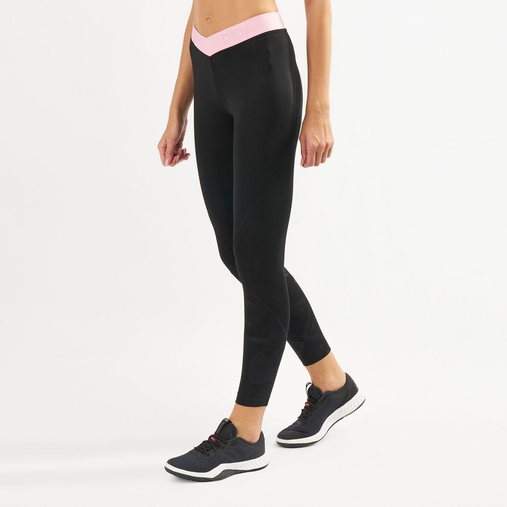adidas Women's Alphaskin Sport 2.0 Embossed Leggings