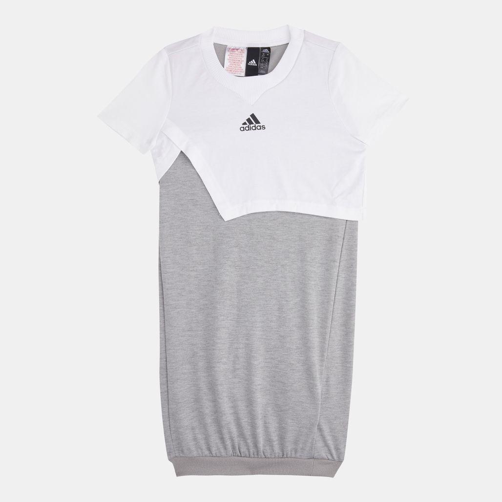 adidas Kids' ID 3-Stripes Dress (Older Kids)