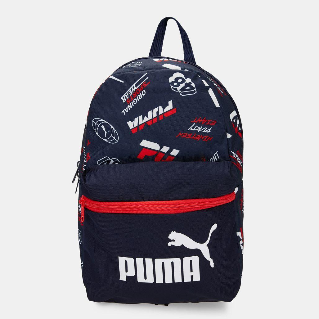 PUMA Kids' Phase Small Backpack - Blue