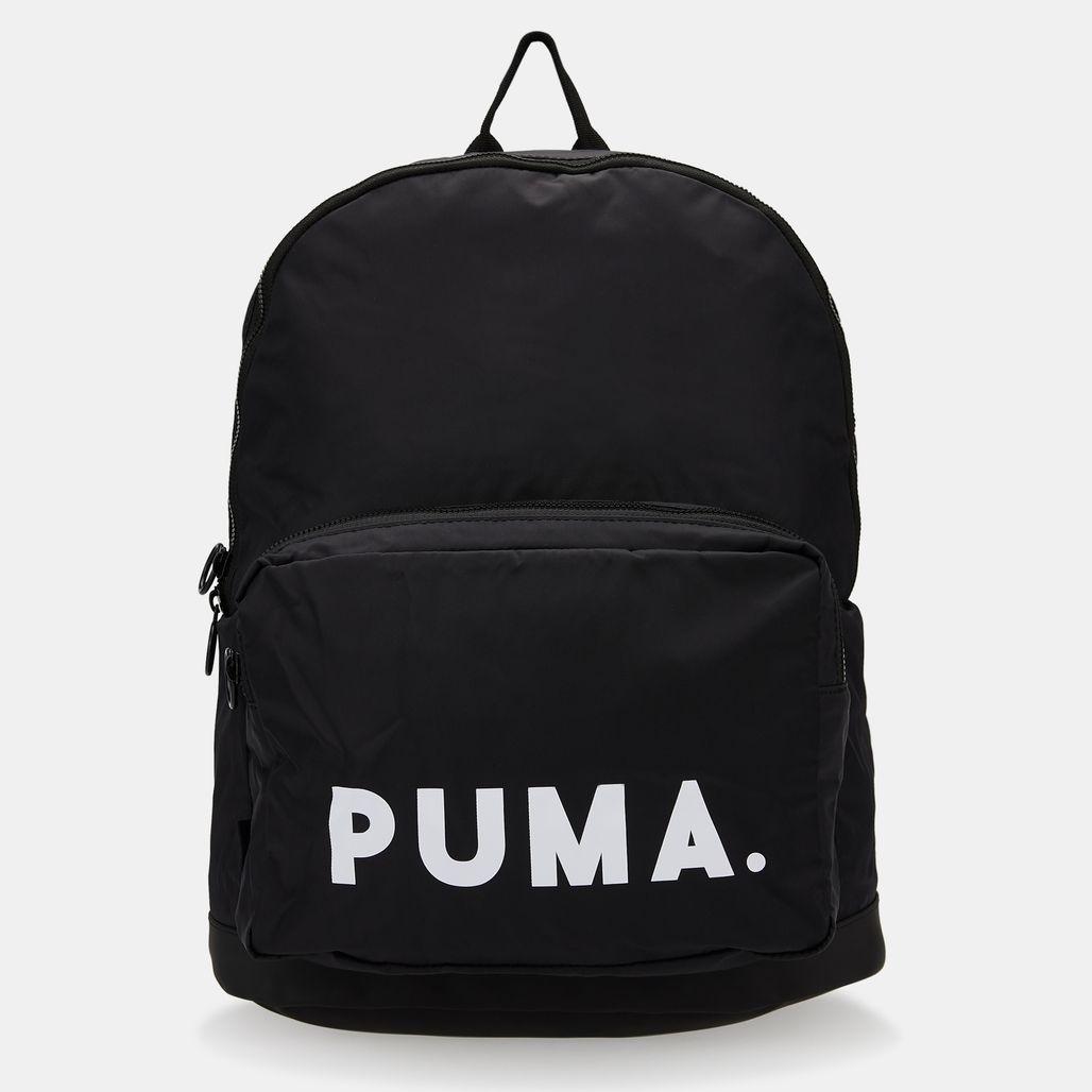 PUMA Men's Originals Trend Backpack - Black