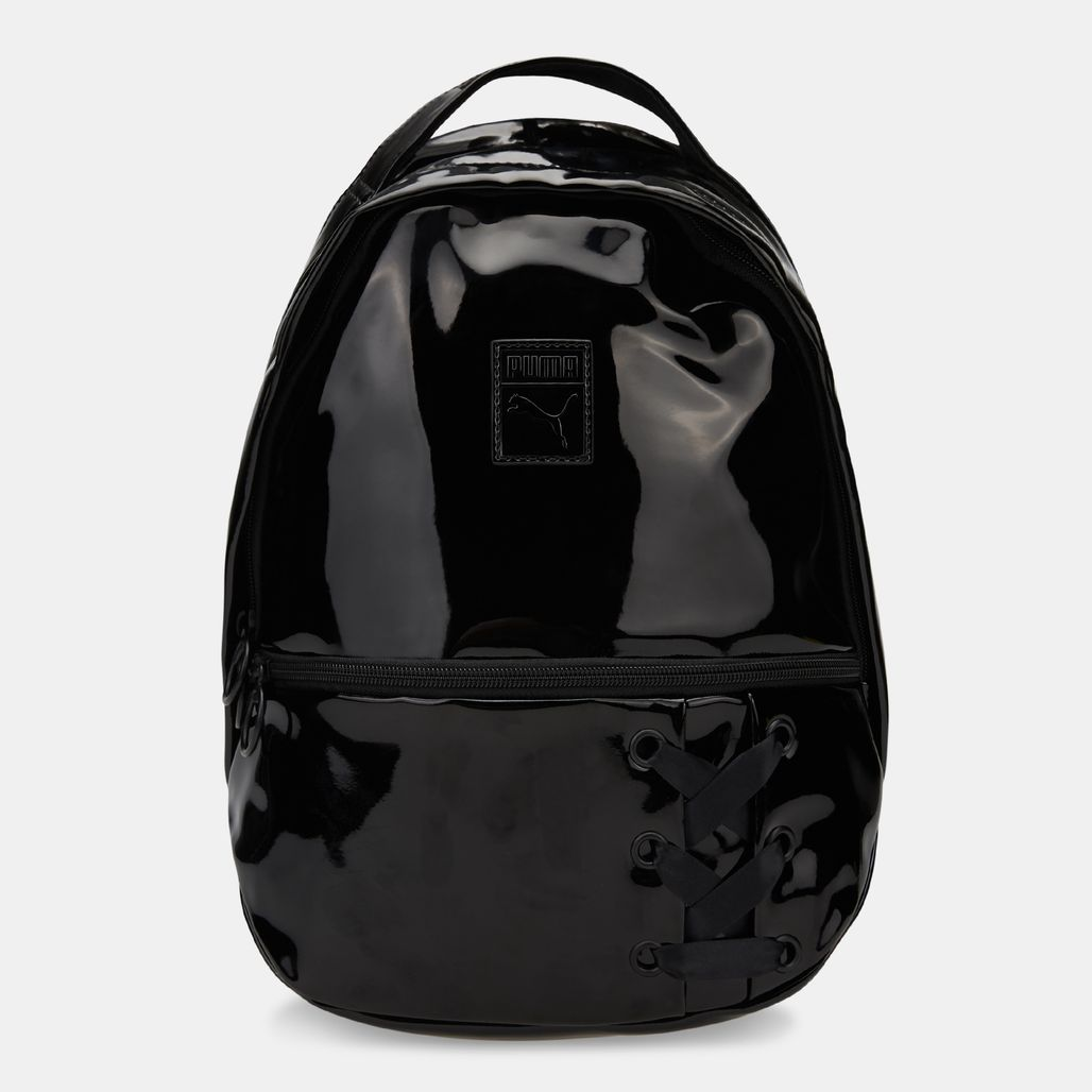 PUMA Women's Archive Backpack Crush Backpack - Black