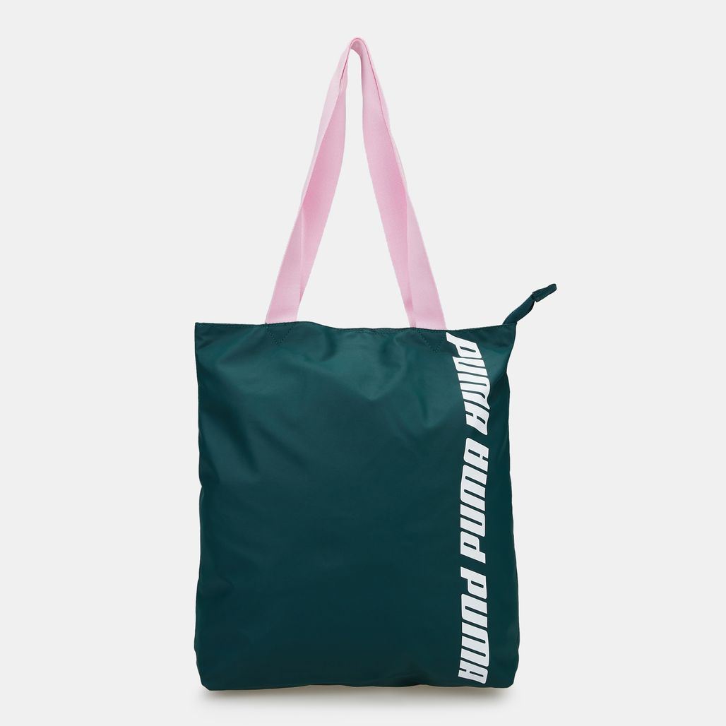 PUMA Women's Core Shopper Bag - Green
