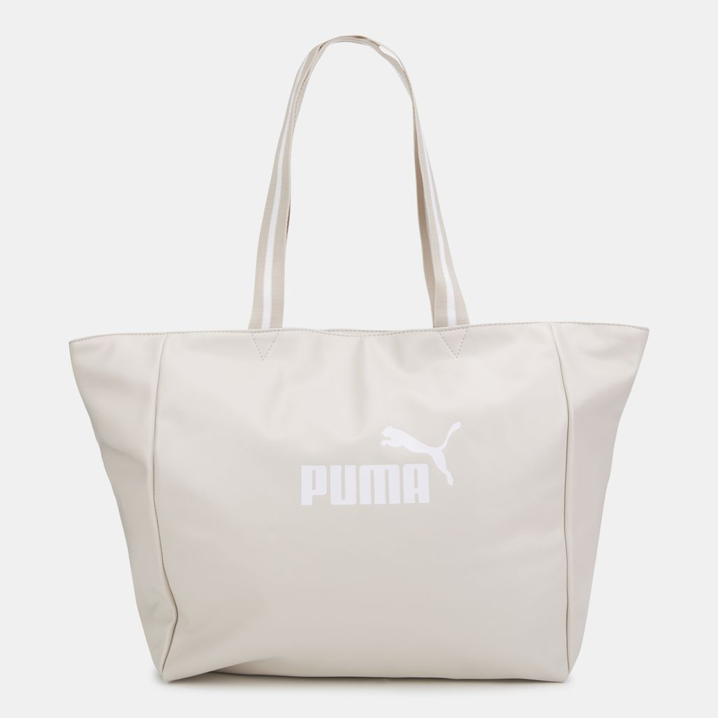 PUMA Women's Core Up Large Shopper Bag - Grey