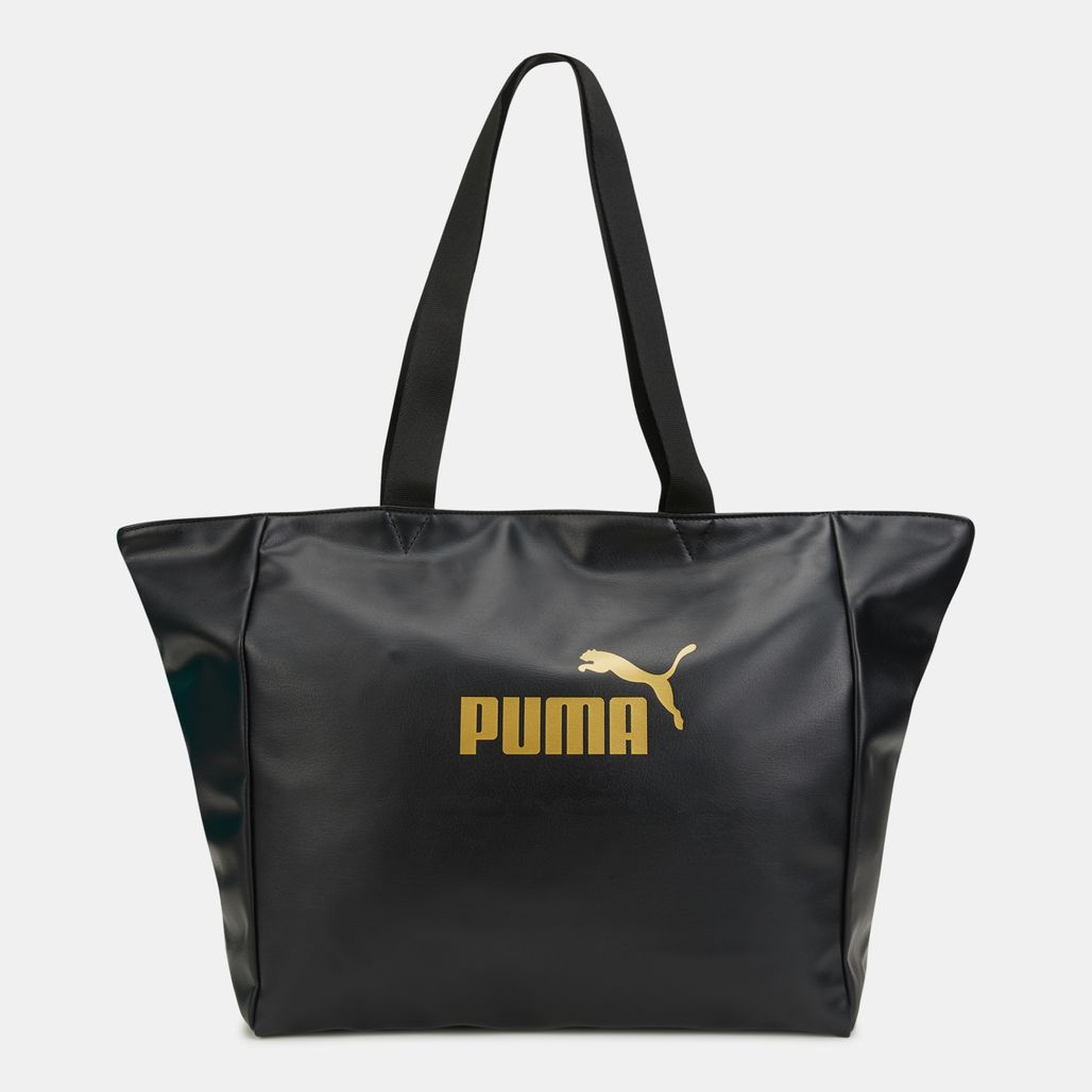 PUMA Women's Core Up Large Shopper Bag - Black