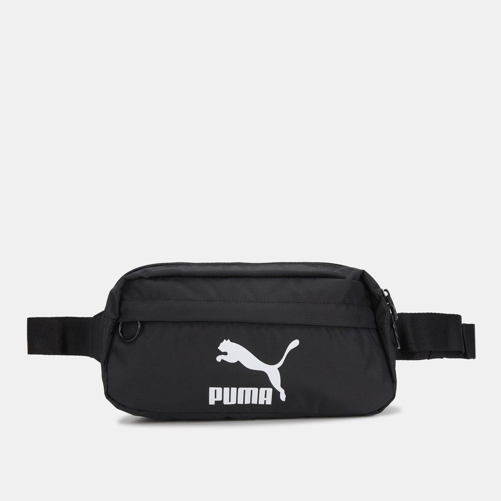 PUMA Men's Originals Waist Bag - Black
