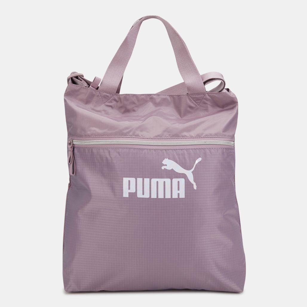 PUMA Women's Core Seasonal Shopper Bag - Purple