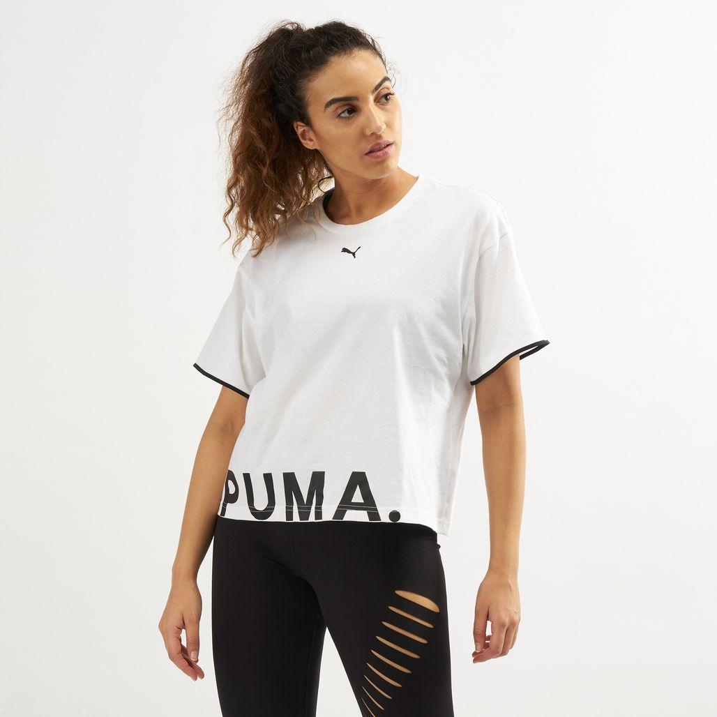 PUMA Women's Chase Cotton T-Shirt