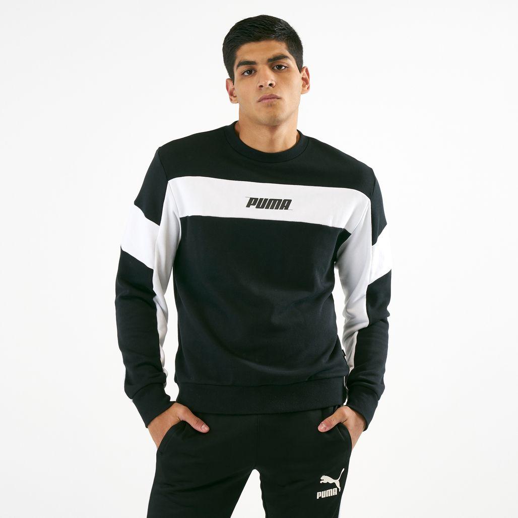 PUMA Men's Rebel Crew TR Sweatshirt