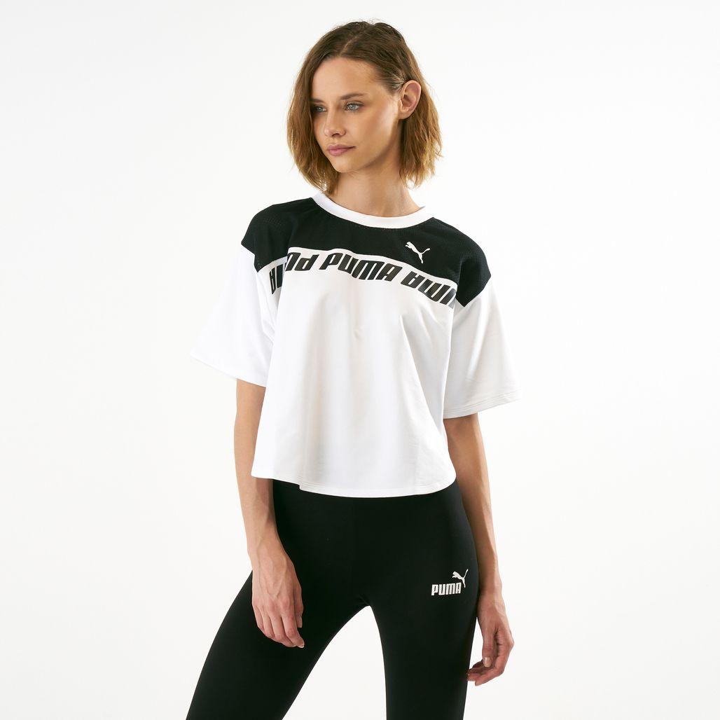 PUMA Women's Modern Sports Sweat T-Shirt