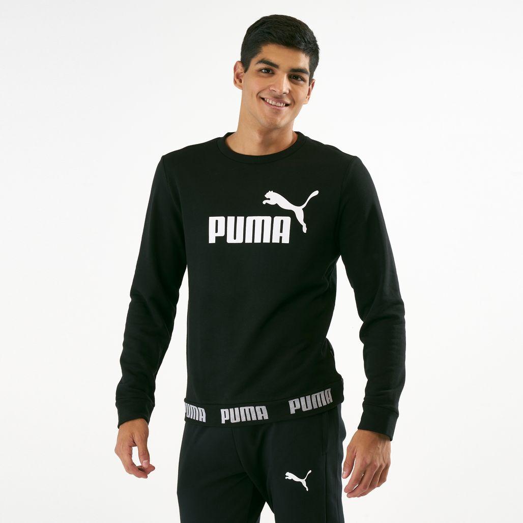 PUMA Men's Amplified Crew Sweatshirt