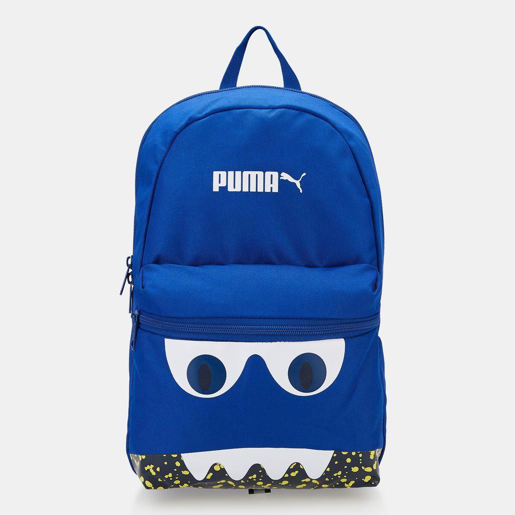 PUMA Kids' Monster Surf The Web Backpack (Younger Kids) - Blue