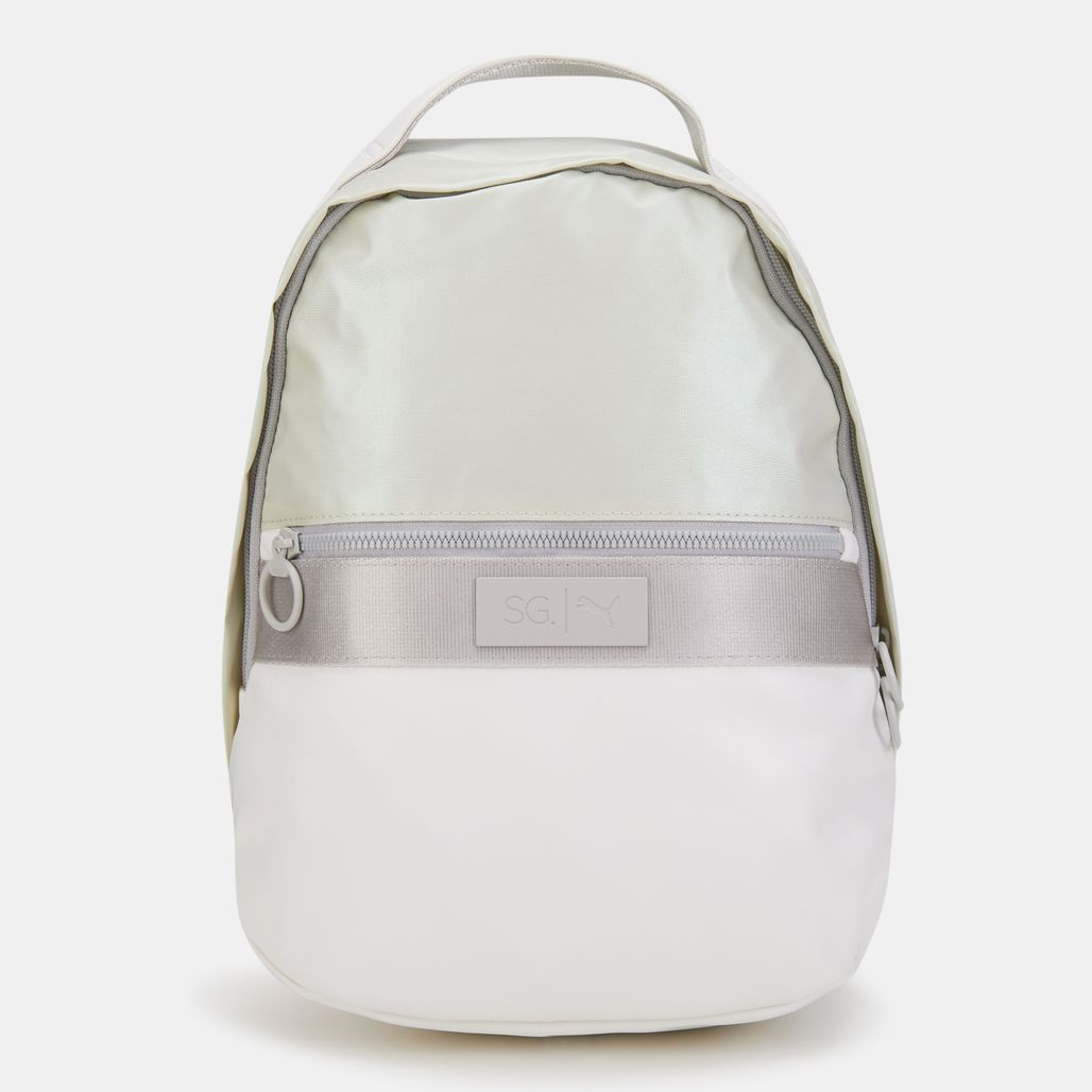 PUMA Women's x SG Style Backpack - White
