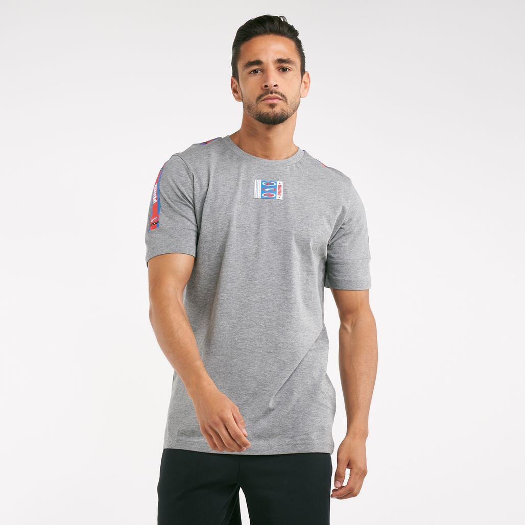 PUMA Men's 90s Retro Tape T-Shirt