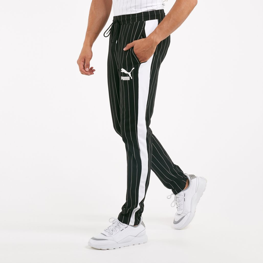 PUMA Men's Pinstripe T7 Track Pants