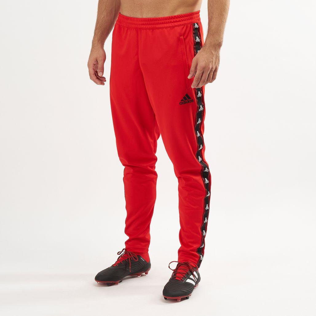 adidas Men's Tan Tape Clubhouse Pants