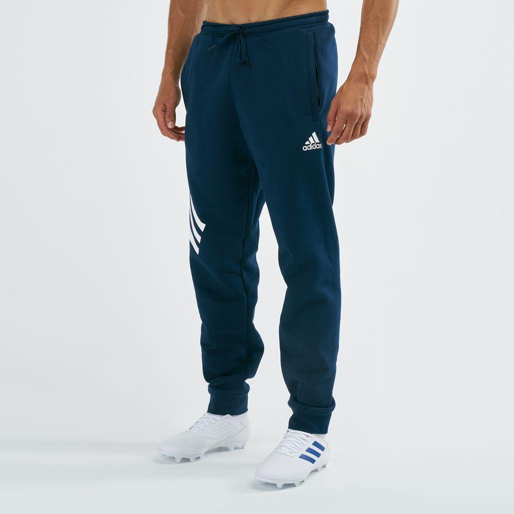 adidas Men's Tan Graphic Track Pants