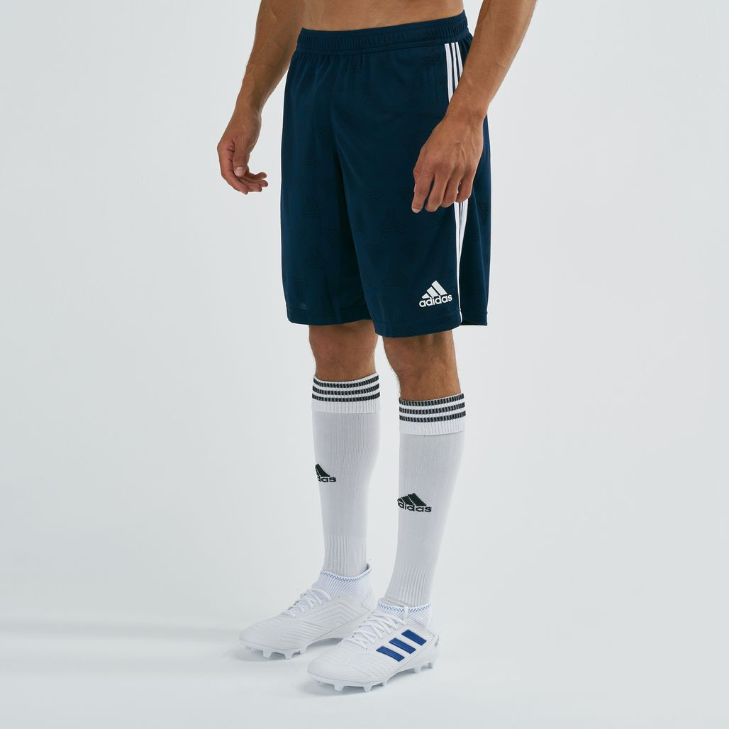 adidas Men's Virtuso Pack Tango Jacquard Football Shorts