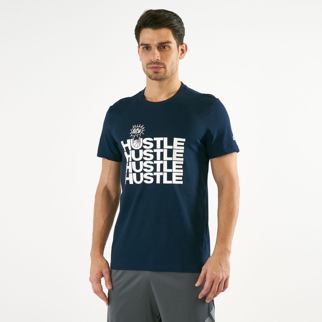 adidas Men's New Hustle T-Shirt