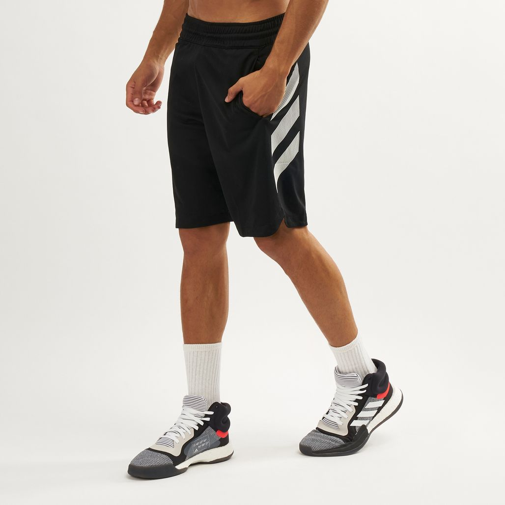 adidas Men's Accelerate 3-Stripes Short