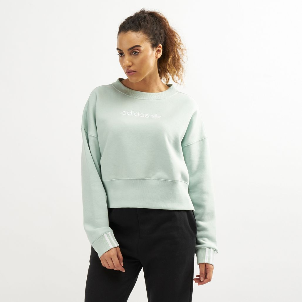 adidas Originals Women's Coeeze Cropped Sweatshirt