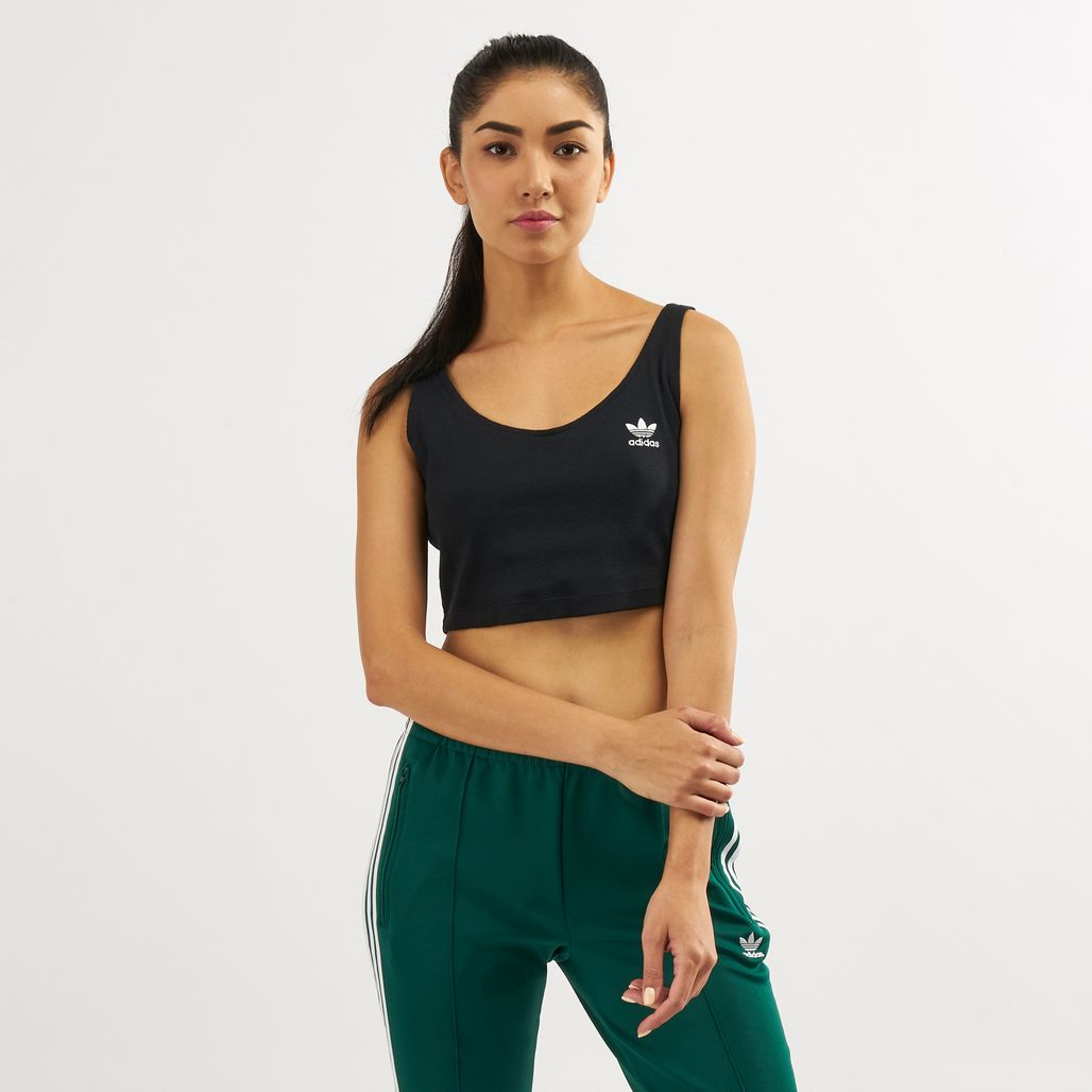 adidas Originals Women's Styling Complements Cropped Tank Top