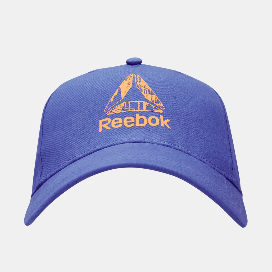 Reebok Kids' U Logo Cap (Younger Kids) - Blue