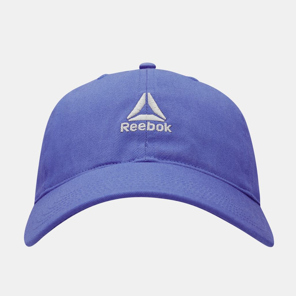قبعة فاونديشن لوجو من ريبوك للرجال - أزرق