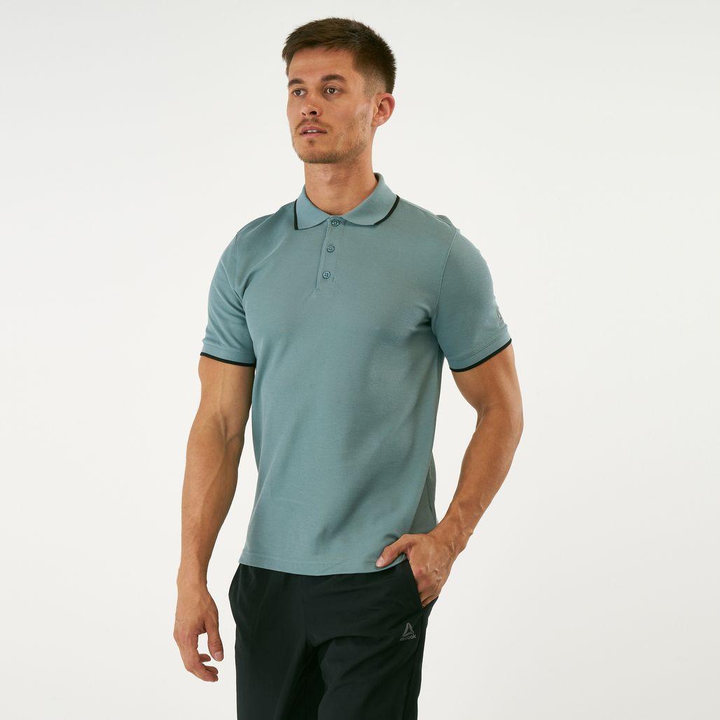 Reebok Men's Training Essentials Polo T-Shirt