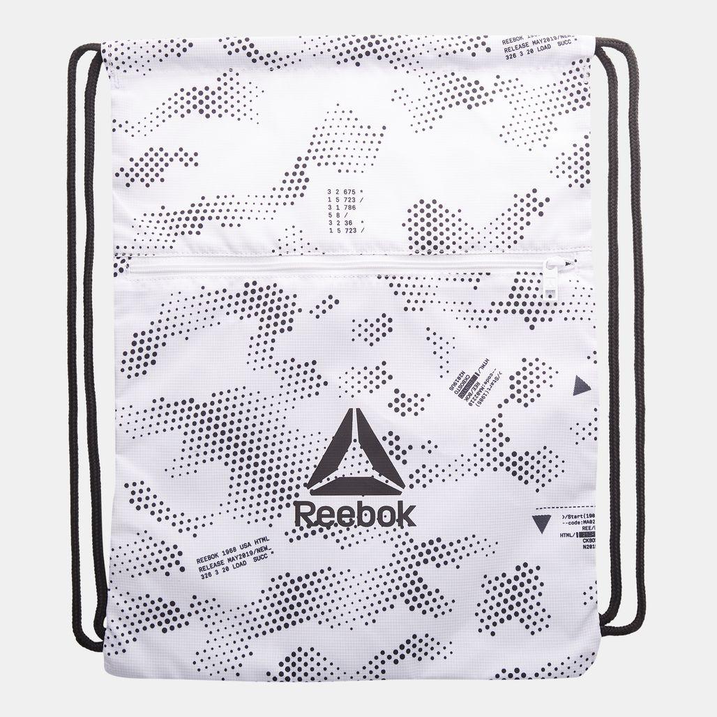 Reebok Active Enhanced Gymsack - White
