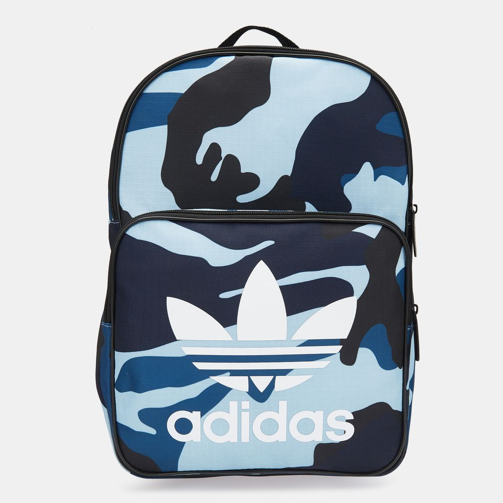 adidas Originals Classic Camouflage Backpack - Grey
