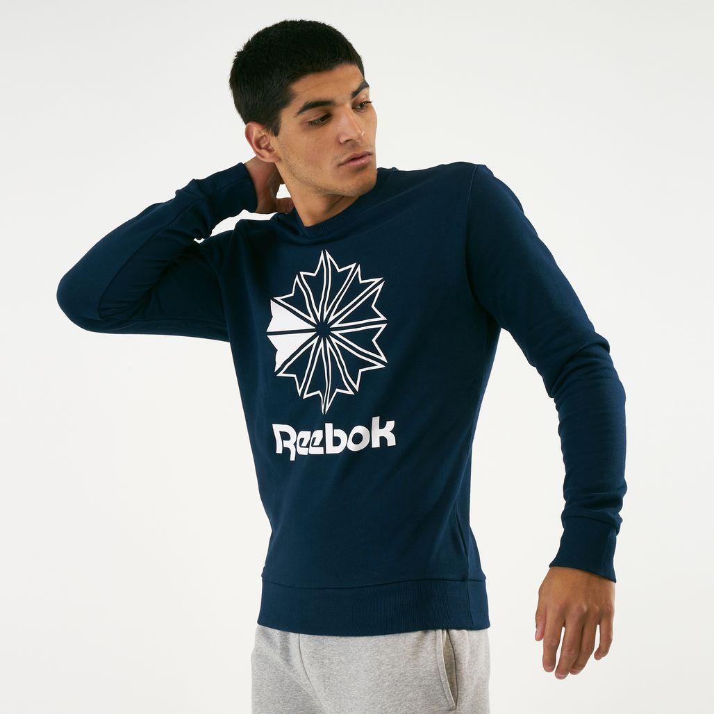 Reebok Classics Men's AC Big Starcrest Crewneck Sweatshirt