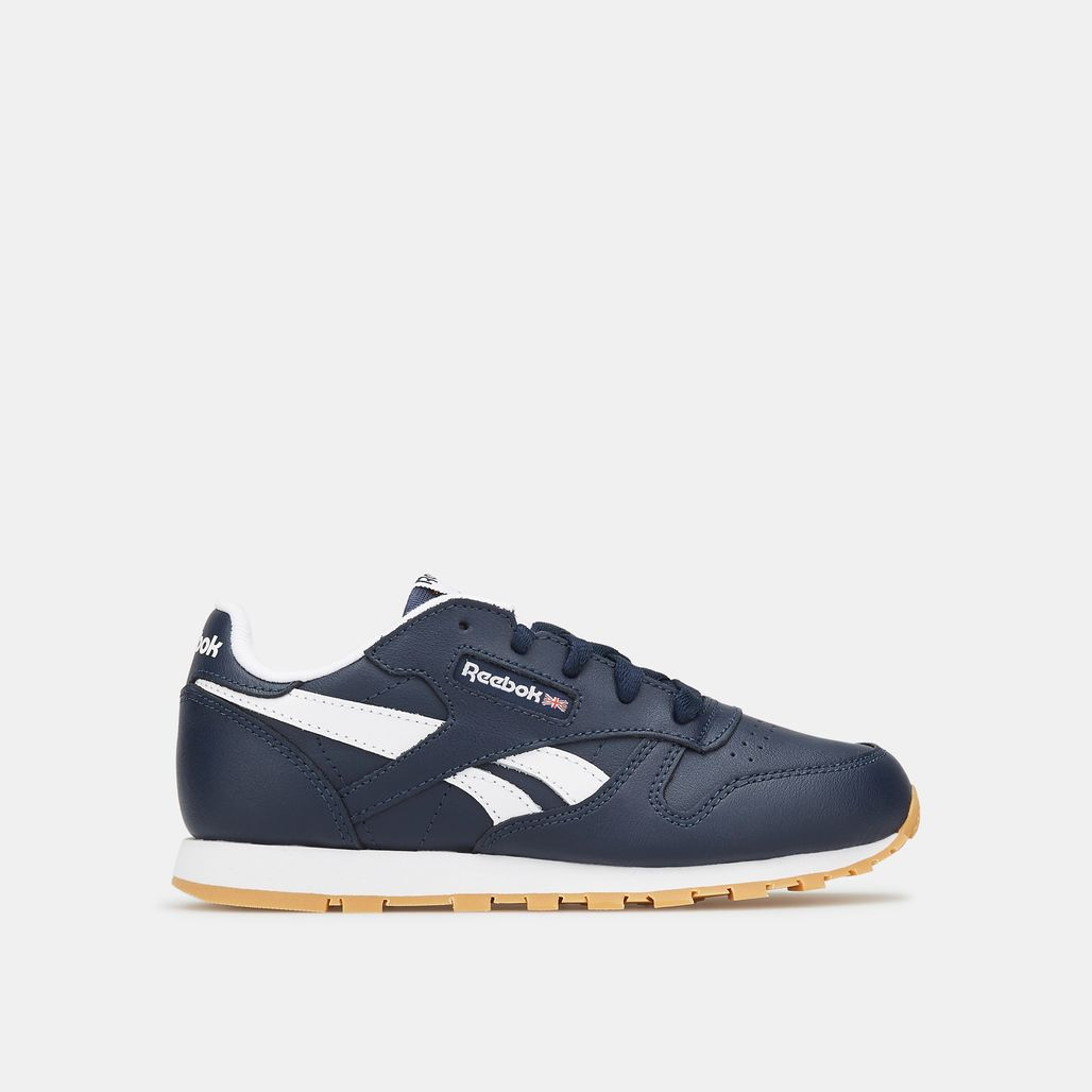 Reebok Kids' Classic Leather Shoe (Younger Kids)