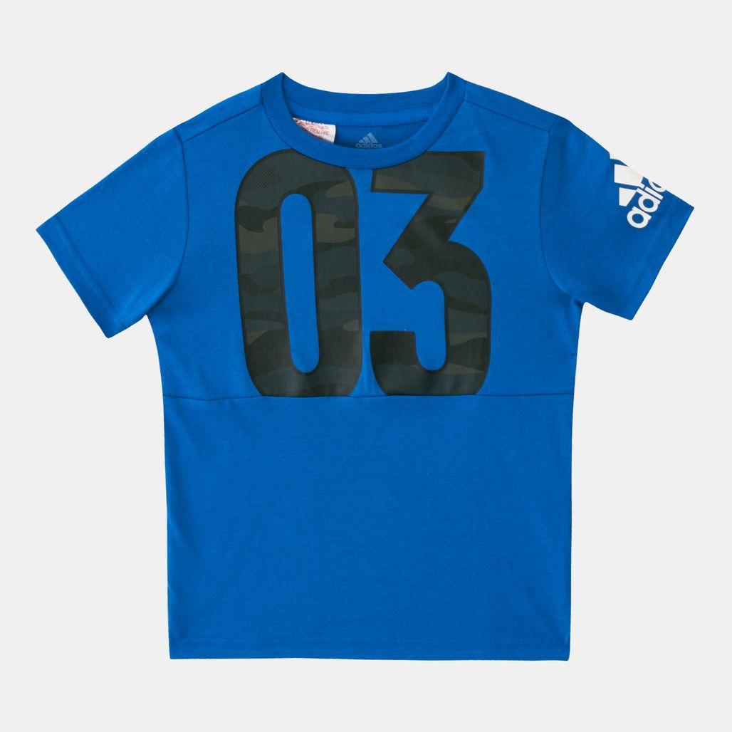 adidas Kids' Cotton T-Shirt (Younger Kids)