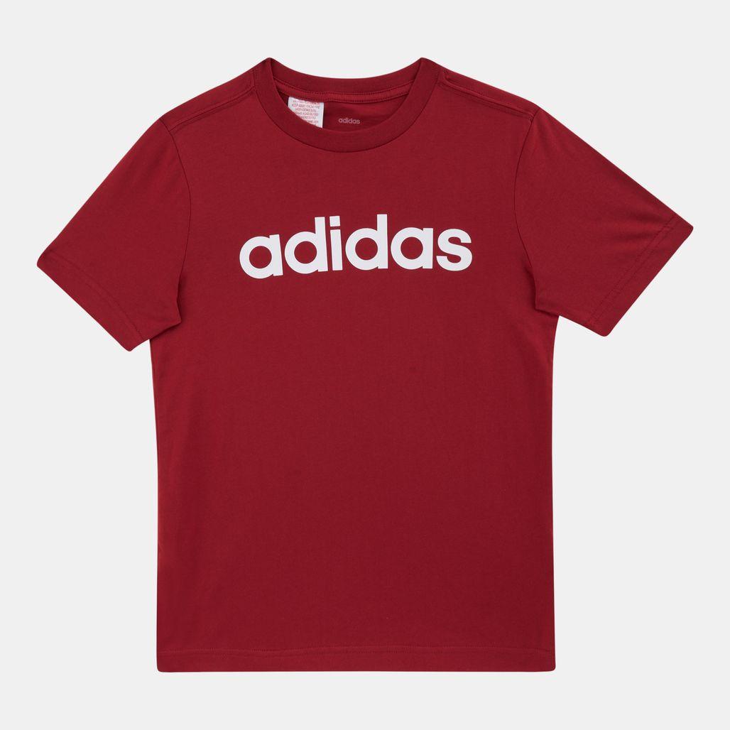 adidas Originals Kids' Essentials Linear Logo T-Shirt (Older Kids)