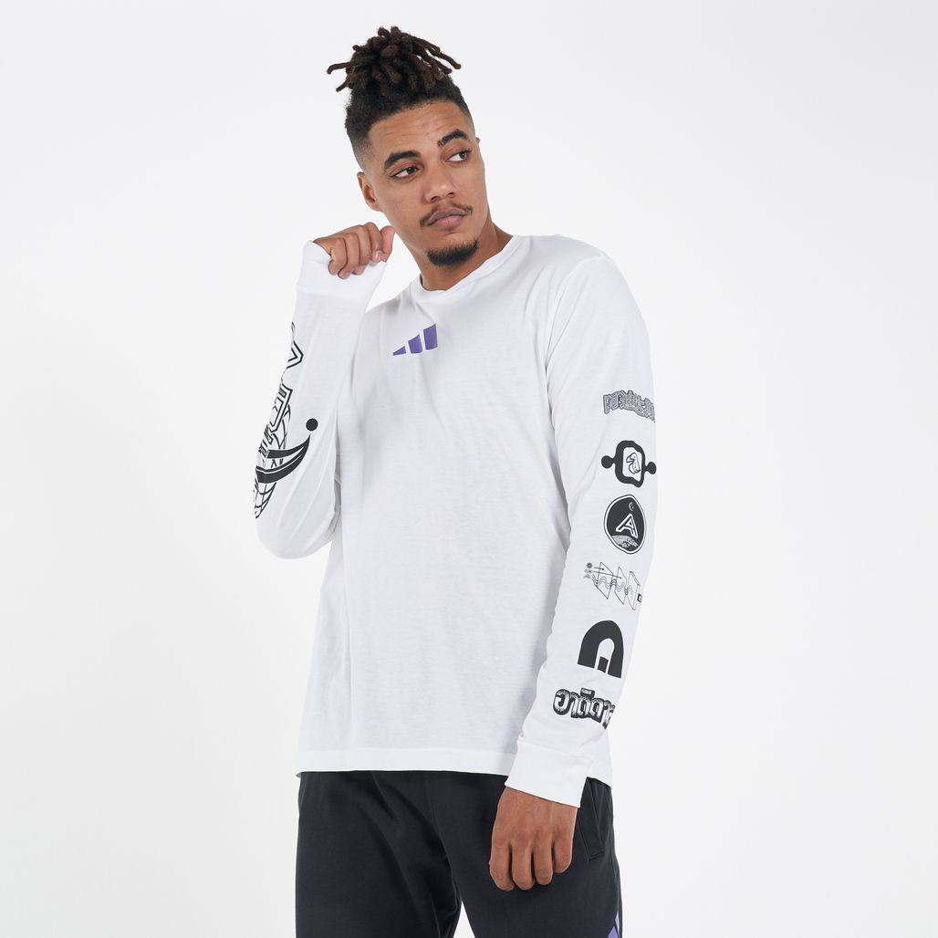 adidas Men's Athletics Long Sleeves T-Shirt