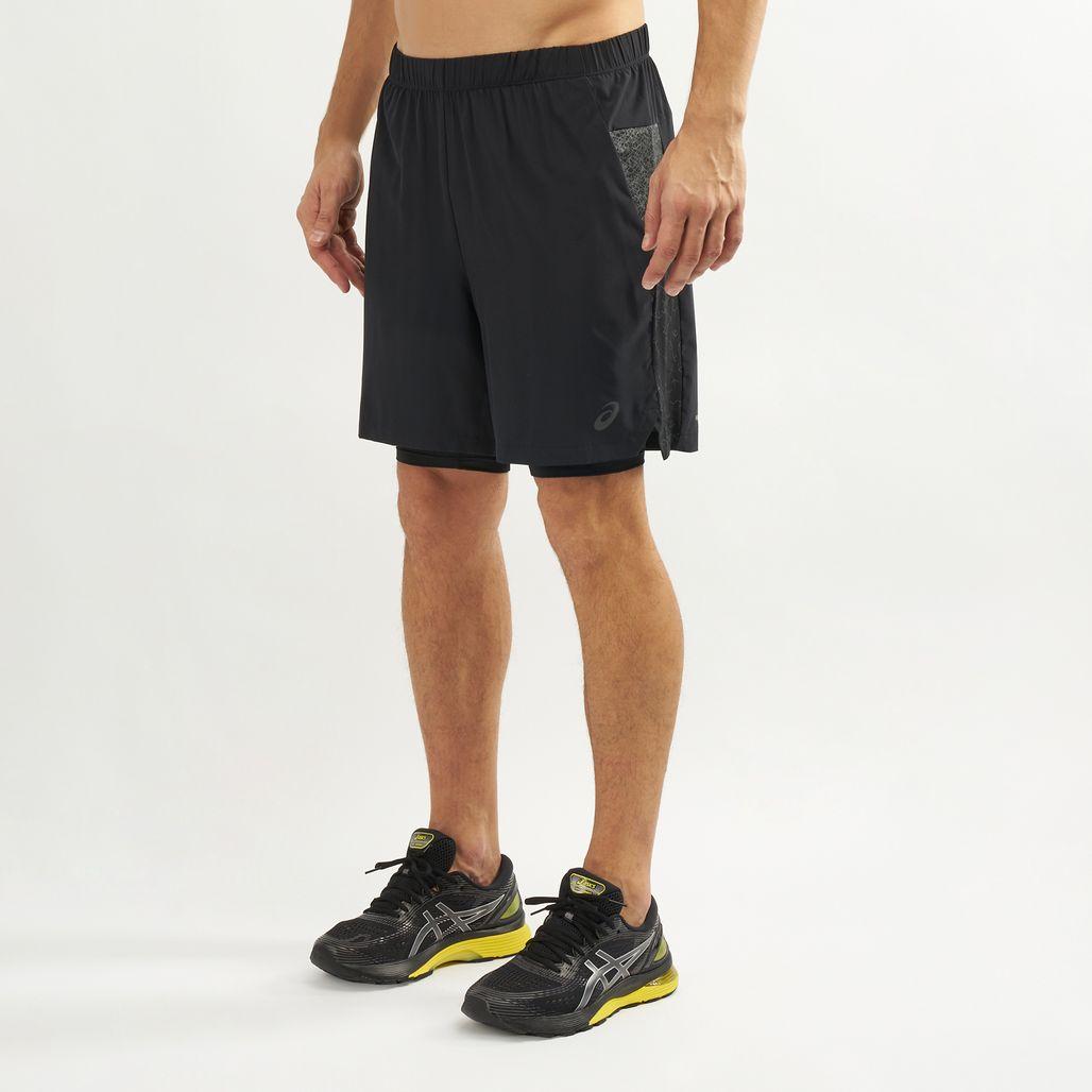 Asics Men's 2-N-1 7 Inch Shorts