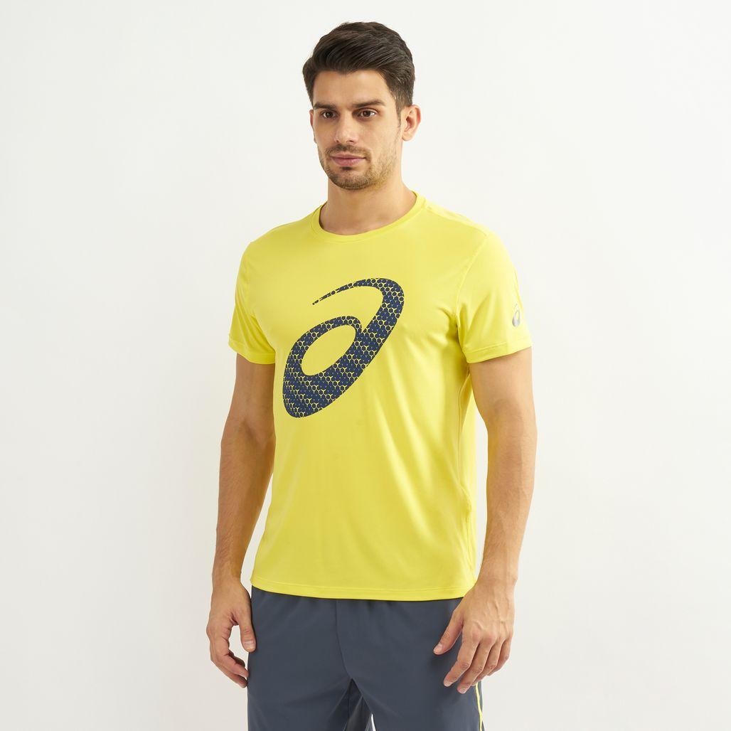 Asics Men's Silver Graphic T-Shirt
