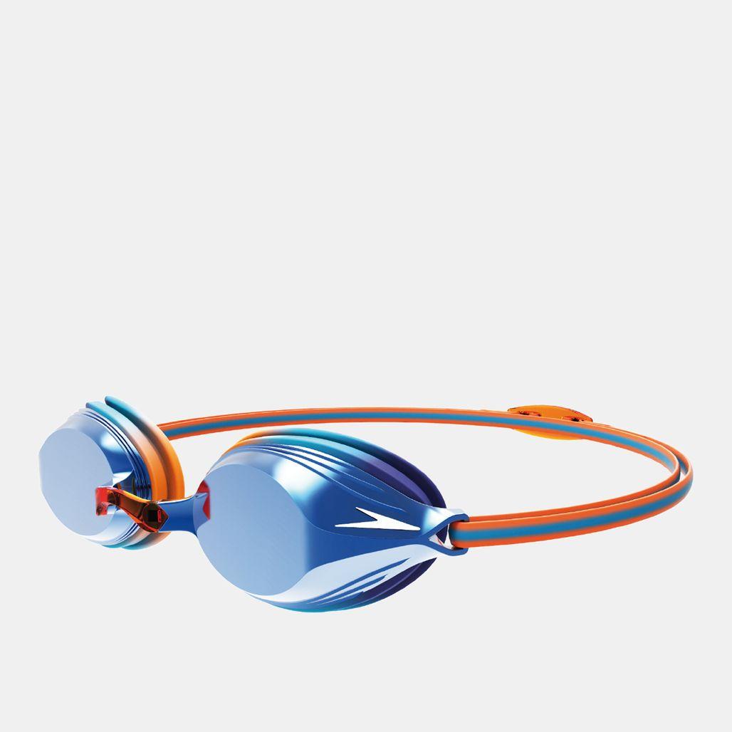 نظارات سباحة فينجيانس ميرور جونيور من سبيدو للاطفال الكبار - أزرق
