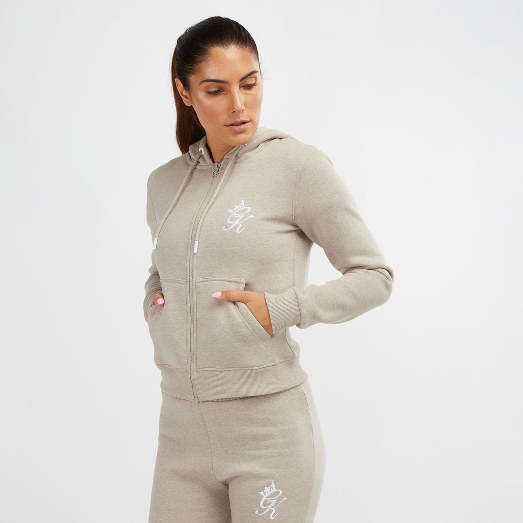 Gym King Jenner Zip Through Hoodie