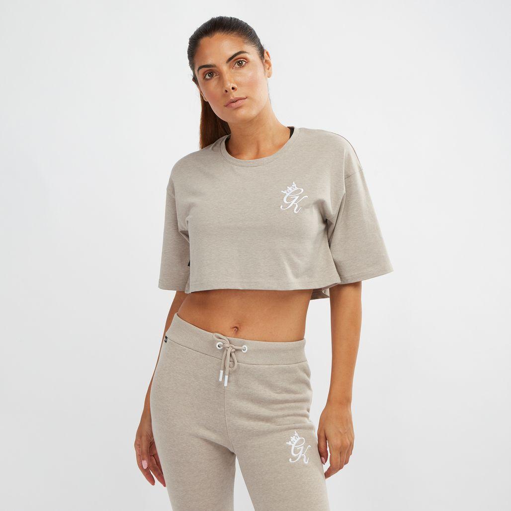 Gym King Kourtney Crop T-Shirt