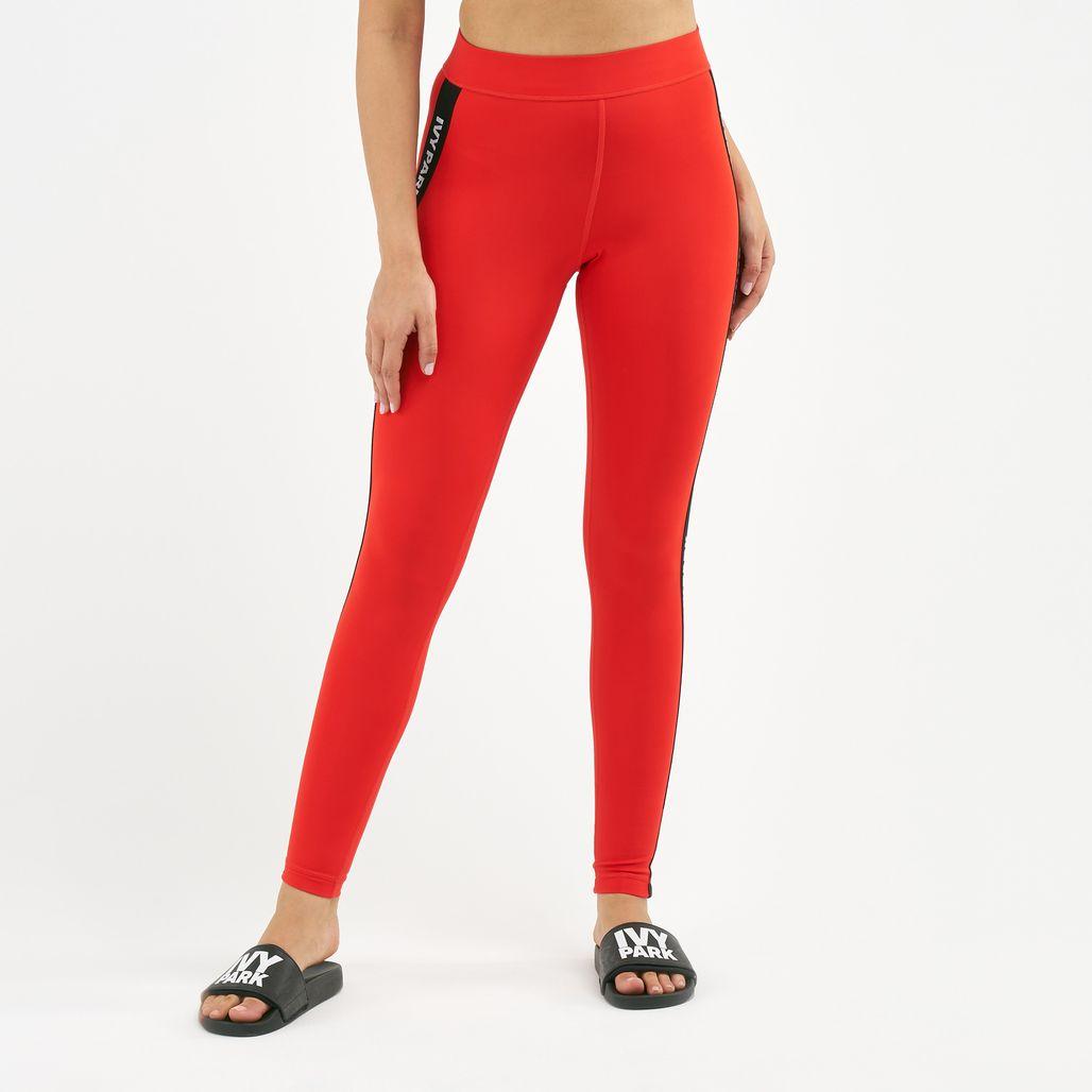 IVY PARK Women's Active Logo Elastic Tape Leggings