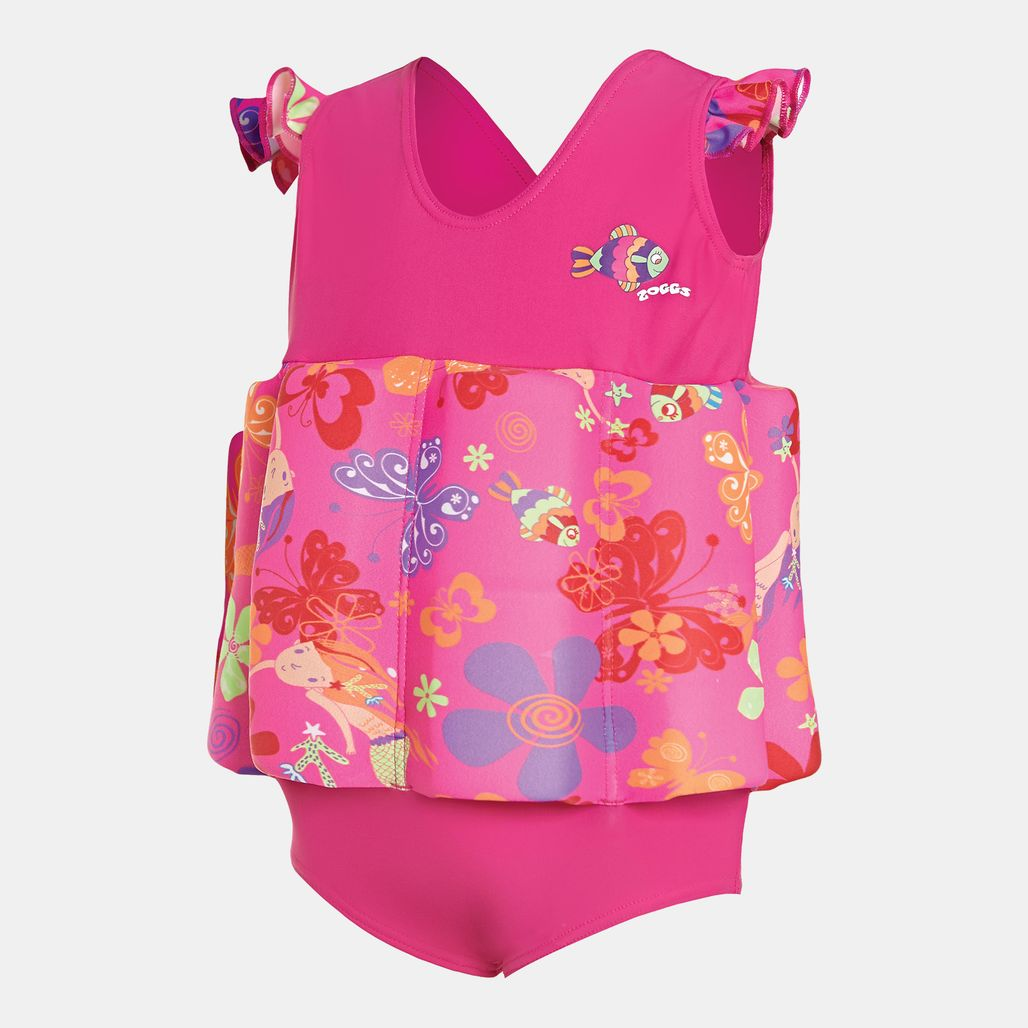 Zoggs Kids' Mermaid Flower Learn To Swim Float Suit (Baby & Toddler)